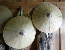 Japanese hats Royalty Free Stock Photography