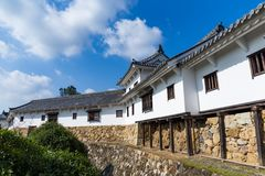 Japanese Himeiji Castle. Beautiful scenery landscape at outdoor Stock Photo