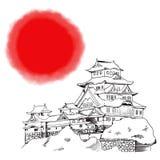 Japanese Himeji Castle Stock Photo