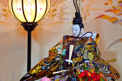Japanese Hina Doll Stock Images