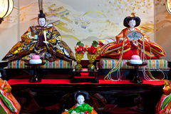 Japanese Hina Dolls Royalty Free Stock Images