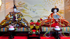 Japanese Hina Dolls Stock Photo