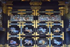 Japanese Historic Gate Royalty Free Stock Images