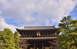 Japanese Historic Gate Stock Photography