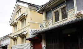 Japanese historical architecture Royalty Free Stock Photo