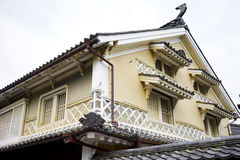 Japanese historical architecture Royalty Free Stock Photography