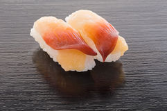 Japanese Hokki Gai Sushi Stock Images