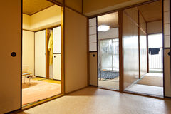 Japanese home indoor. The home of japanese style indoor Stock Photo