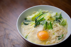 Japanese homely cuisine Ramen noodles Royalty Free Stock Photos