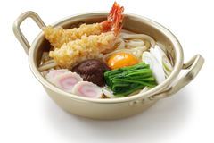 Japanese hot pot noodles Royalty Free Stock Photography