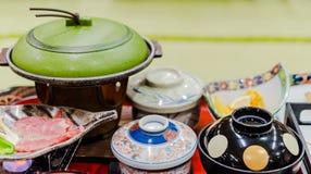 Japanese Hot Pot Shabu Royalty Free Stock Photography