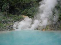 Japanese hot springs Stock Photos