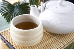 Japanese hot tea cup Stock Photography