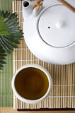Japanese hot tea Royalty Free Stock Photo