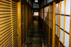 A japanese hotel royalty free stock images