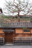 Japanese house in Gion district in Kyoto Stock Photography