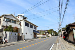 Japanese house in Kyoto Stock Images