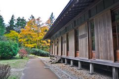 Japanese house in Nikko Tamozawa Imperial Villa Royalty Free Stock Images