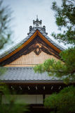 Japanese house rooftop section Stock Photography