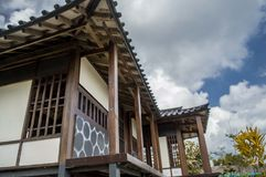 Japanese house stock images