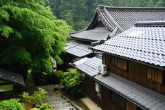 Japanese house Stock Photography