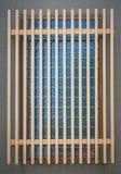 Japanese house traditional  wood window Stock Photo
