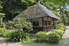 Japanese hut Royalty Free Stock Photo