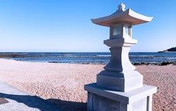 Japanese iconic pole stock images