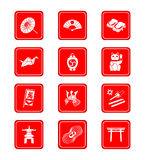Japanese icons Stock Photo