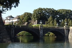 Japanese imperial palace Royalty Free Stock Photography