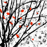 Japanese ink abstraction royalty free stock photos