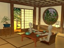 Japanese interior Stock Photo