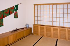Japanese interior Royalty Free Stock Photos