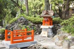 Japanese joss house Royalty Free Stock Photos
