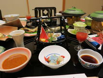 Japanese Kaiseki Cuisine Stock Photography