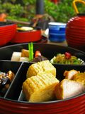 Japanese Kaiseki Cuisine Stock Photo