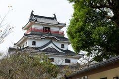 Japanese Karatsu castle. Outdoor beautiful scenery landscape stock images