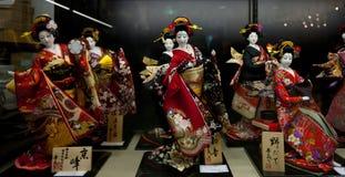 Japanese kimono. Tang culture affected by the Japanese kimono, from the Edo period to the Meiji Restoration, kimono style has the basic shape. Japanese kimono Stock Photography