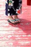 Japanese kimono style Stock Photo
