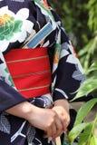 Japanese kimono style Royalty Free Stock Image