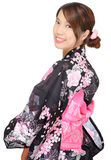 Japanese kimono woman Stock Photo