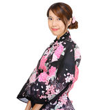 Japanese kimono woman Royalty Free Stock Photography