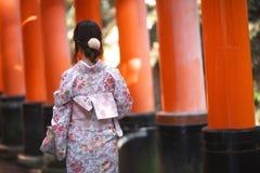 Japanese kimono Royalty Free Stock Photo