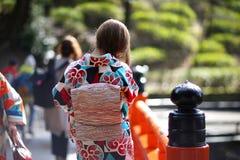 Japanese kimono Stock Photos