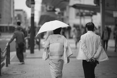 Japanese kimono Stock Photo