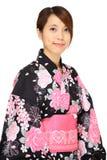 Japanese kimono woman Stock Photos