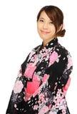 Japanese kimono woman Royalty Free Stock Photo
