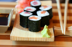 The Japanese kitchen. Rolls Stock Photos