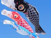 Japanese Kites Stock Photography