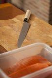 Japanese knife Stock Image